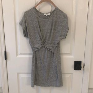 IRO Heather grey jersey dress. Size M